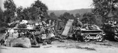 Battle of Stonne 1940 - French Soldiers