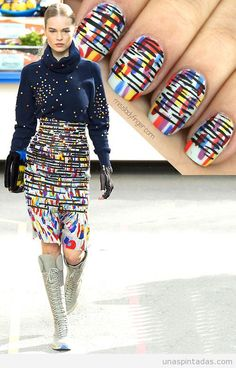 Nail Art inspirado en Chanel Otoño 2014