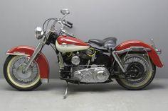 Harley Davidson 1961 Duo Glide 1200cc
