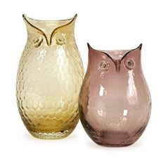 another owl vase...saw in one of the homes in San Antonio Parade of Homes