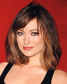 Olivia Wilde's Tousled Bob - Haircuts of the Year - The Makeover Issue - Hair - InStyle
