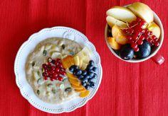Jablečno - proteinová bomba Oatmeal, Breakfast, Food, Pump, The Oatmeal, Morning Coffee, Rolled Oats, Essen, Meals