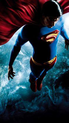 """Wallpaper for """"Superman Returns"""" Arte Do Superman, Mundo Superman, Superman Poster, Superman Artwork, Superman And Lois Lane, Superman Birthday, Superman Movies, Spiderman Movie, Superman Man Of Steel"""