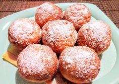 Habkönnyű vaníliás túrófánk Sweet Life, Cake Recipes, Bakery, Muffin, Food And Drink, Pie, Bread, Snacks, Cookies