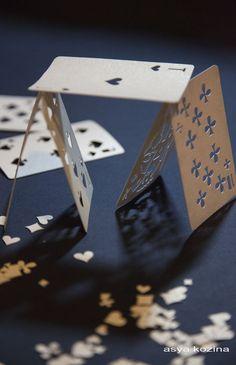 Playing cards by Asya Kozina, via Behance