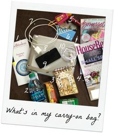 Come check out what Stacey has tucked away in her carry-on bag as she heads out to the CHA show in Las Vegas.
