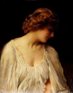 Thomas Kennington (English, 1856–1916) - Contemplation, 1900,