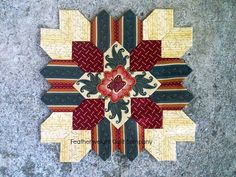 Lucy Boston Patchwork of the Crosses Quilt by FeatherweightQuiltCo, $6.75