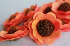 Items similar to Wood Birch Sunflower - Orange/Tangerine on Etsy Sunflower Colors, Hair Blow Dryer, Wooden Flowers, Green Flowers, Flower Making, Birch, Orange, Floral, Crafts