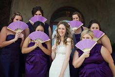 A highly detailed and creative rich purple DIY wedding in California // photos by Luminaire Images: http://www.luminaireimages.com || see more on http://www.artfullywed.com