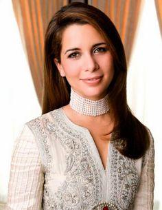 Princess Haya of Jordan.