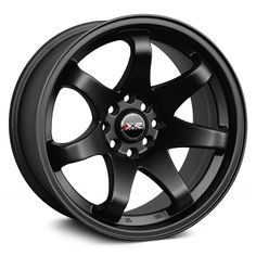 Flat Black XXR Wheels Find the Classic Rims of Your Dreams - www.allcarwheels.com