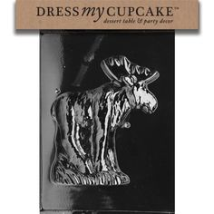 Dress My Cupcake DMCA301A Chocolate Candy Mold MoosePiece 1 ** See this great product.
