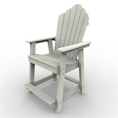 The Adirondack Counter Chair is manufactured using the highest quality products while utilizing the finest eco-friendly materials available. Malibu Outdoor Living poly-board outdoor furniture line is manufactured from recycled dairy and detergent bottles. Great for dining in comfort with your family and friends, built to last a lifetime of enjoyment.