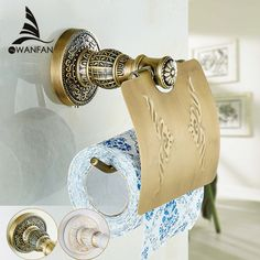 antique brass paper towel rack europe style bathroom paper holder European toilet paper box toilet accessories Paper SL-7803 - ICON2 Luxury Designer Fixures  antique #brass #paper #towel #rack #europe #style #bathroom #paper #holder #European #toilet #paper #box #toilet #accessories #Paper #SL-7803