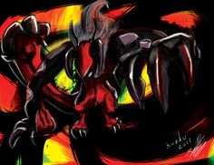 Yveltal by Kundu on deviantART