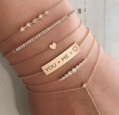 Dainty bracelets More