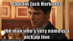 """The former pinner said This is even more amazing to me personally because I, Britton, met John Barrowman at Comic-Con and when I walked up to him he went, """"Captain Jack Harkness..."""" BECAUSE I HANDED HIM A JACK AND THE DOCTOR PICTURE TO AUTOGRAPH AND AGDJSKDL yeah that really happened to me!"""