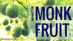 Everything You Need to Know about Monk Fruit Sweeteners