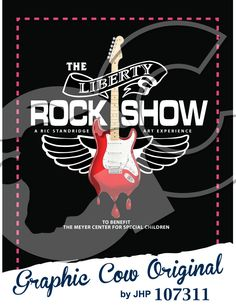The Liberty Rock Show guitar wings music #grafcow