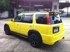 yellow honda crv fender flares Honda Crv 4x4, Car Audio Systems, Cr V, Fender Flares, Mk1, Sexy Cars, Dream Cars, Automobile, Truck