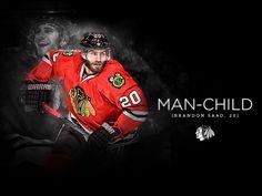Man-Child. #Blackhawks I'm going to miss him so much