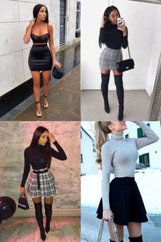 For outfit that look good, top look forstylish women Jean Outfits, Chic Outfits, Girl Outfits, Fashion Outfits, Casual Clubbing Outfits, Club Outfits For Women, Clothes For Women, Aycrlic Nails, College Outfits
