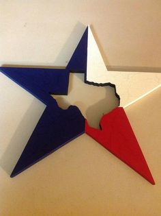 Texas Star Decor by TheCrossedCupcake on Etsy, $20.00
