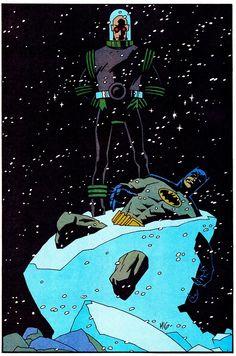 MISTER FREEZE Defeats BATMAN - Mike Mignola & Rick Taylor (1994)