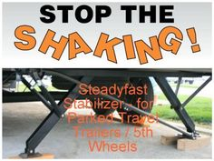 Why Does Your Trailer Shake? -- How Do You Stop the Shaking? Get STEADYfast®! Best Performing & Easiest to Use Parked Trailer Stabilizer #steadyfast #hanscoment #movement #easy #rvlife #madeinthe usa #trailerlife #trailer #5thwheel #stoptheshaking #stopmotion #fifthwheels #happywifehappylife #camping #stabilizer #best #quality #Sandsod #stabilitybythesea #lifeisgood #bestperforming