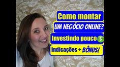 Como montar um NEGÓCIO ONLINE e TRABALHAR EM CASA investindo pouco – NEG...