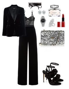 """""""Без названия #178"""" by liza-685 ❤ liked on Polyvore featuring L'Agent By Agent Provocateur, T By Alexander Wang, Dsquared2, Fallon, Marco de Vincenzo, Dolce&Gabbana, Giorgio Armani, Gucci, Rolex and Anita Ko"""