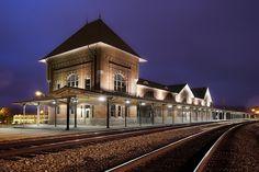 Historic Bristol Train Station in Bristol TN/VA, via Flickr.