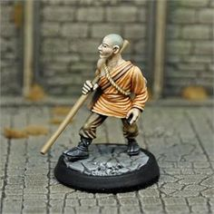 PRE-ORDER - Monk, Male Human - Dungeon Adventurers (x1 fig)