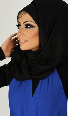 """""""Be Brave. Be Elegant...!"""" ★ Perfectly Gorgeous Makeup too!!!! Wow Factor...!!! ★ blue"""