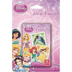 Jeu de 7 familles à l'effigie des princesses de dessins animés. #jeudecartes #7familles #princesse