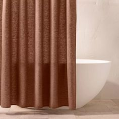 Chambray Shower Curtain - Casaluna™ : Target Rustic Shower Curtains, Shower Curtain Rods, Wooden Bathroom Accessories, Curtain Accessories, Curtain Patterns, Room Essentials, Chambray, Really Cool Stuff, Bed Pillows
