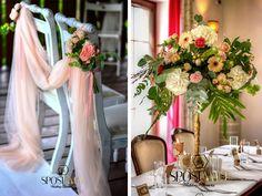 wedding elegant, green and rose, rustic wedding Wedding Gold, Elegant Wedding, Rustic Wedding, Castle, Table Decorations, Green, Nature, Home Decor, Naturaleza