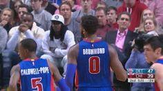 Andre Drummond - Reggie Jackson - Detroit Pistons