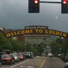 Home... Golden, Colorado