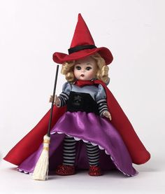 """Madame Alexander, Wizard of Oz, 8"""" Wicked Witch of the East SKU 68300 2014"""