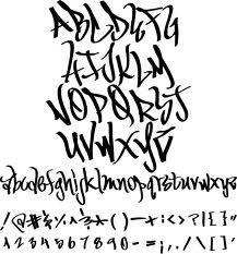 graffiti fonts - Google Search
