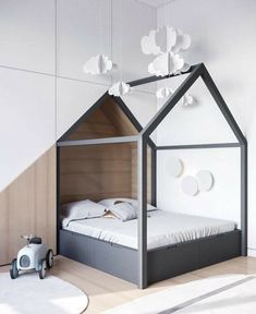 We all know how difficult it is to decorate a kids bedroom. A special place for any type of kid, this Shop The Look will get you all the kid's bedroom decor ide Scandinavian Kids Rooms, Scandinavian Interior Design, Interior Modern, Scandinavian Christmas, Kids Bedroom Furniture, Bedroom Decor, Bedroom Ideas, Bedroom Lighting, Bedroom Wall