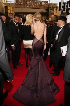 Taylor Swift - 2013 Golden Globe Awards - Beverly Hills Hotel - Beverly Hills, CA - Taylor Swift in Donna Karan @ Golden Globes