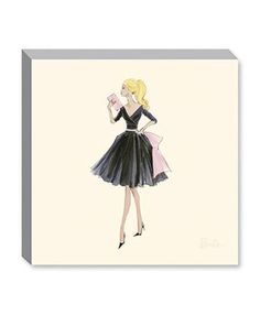Midnight Mischief Barbie Fashion Canvas Print  Beautiful accessory for the Fashion Girl!  www.TheShoppingBagStore.com  Shipping Fabulous items Worldwide!    #Barbie #Style #Fashion #Paintings