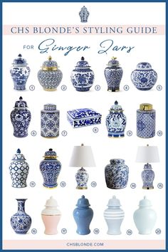 Styling Bookshelves: The Ultimate How-To Guide Blue And White Living Room, Blue And White Vase, Blue Vases, Classic Shelves, Styling Bookshelves, Bookcases, Hamptons Style Decor, Keramik Vase, Chinoiserie Chic