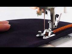 29 Устройство для шитья декоративными нитями и лентами - YouTube