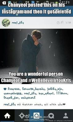 Chanyeol thank you for being such a wonderful friend | allkpop Meme Center