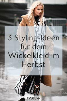 Hier zeigen wir dir, wie du dein Wickelkleid auch im Herbst ganz easy stylen  kannst 01720e6bfa