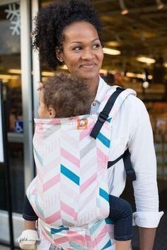 "Full Printed Canvas ""Pixie"" TULA BABY CARRIER"